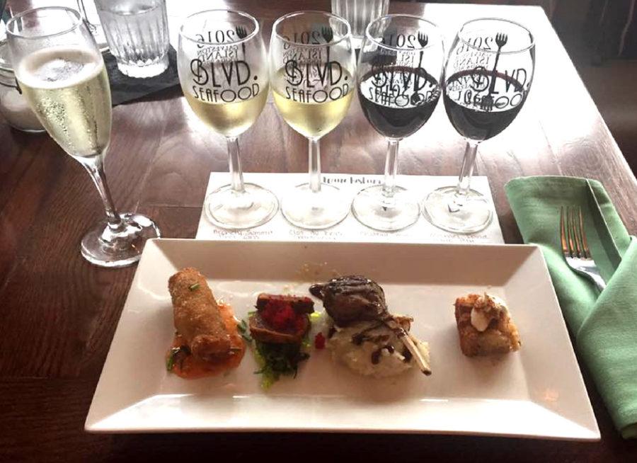 Introducing Ladies Love Wine at BLVD. Seafood